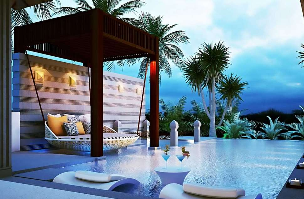 Island-resort